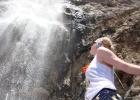 Фото туриста. Маленький водопад