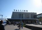 Фото туриста. Ж/Д вокзал Таллина