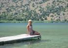 Фото туриста. озеро