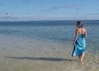 Фото туриста. пляж, океан