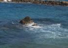 Фото туриста. Море на пляже отеля