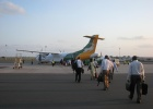Фото туриста. Самолет Precision Air, доставивший нас на Занзибар
