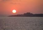 Фото туриста. закат в Пафосе