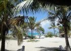 Фото туриста. Вид на пляж