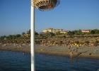 Фото туриста. Пляж в дали