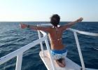 Фото туриста. Морская прогулка
