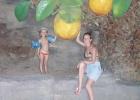 Фото туриста. апельсиновая роща