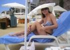 Фото туриста. у бассейна