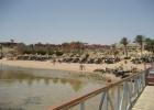 Фото туриста. Вид с пирса на пляж