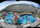 Фото туриста. Панарама отеля с 5го этажа.