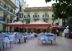 Фото туриста. Вид части ресторана на улице