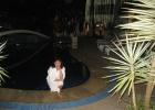 Фото туриста. Отель вечером