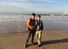 Фото туриста. пляж Агадира