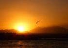 Фото туриста. Январский закат в Хургаде