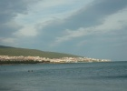 Фото туриста. вечерний вид на Златый Влас с пляжа Солнечного Берега