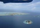 Фото туриста. вид из самолёта