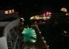 Фото туриста. Вид из отеля ночью.