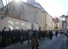 Фото туриста. Очередь на голосование 04.03.2012 в Таллине
