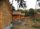 Фото туриста. пальмовые бунгало