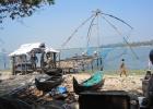 Фото туриста. Китайские рыбацкие сети в Кочине