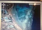 Фото туриста. на фото пирс длинной в 1 км!!!! и даже на фото видны волны от шторма.Рядом маленький(450 м)пирс,с которого разрешено было купатся по пояс