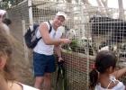 Фото туриста. Ферма животных