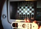 Фото туриста. Шахматы под облаками.