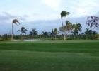 Фото туриста. Вид из ресторана у гольф поля