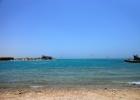 Фото туриста. Песчаный пляж