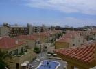 Фото туриста. вид с балкона