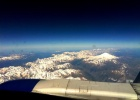 Фото туриста. под крылом самолёта Кавказ