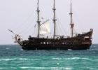 Фото туриста. пиратский корабль