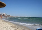 Фото туриста. Левая сторона пляжа