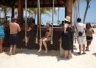 Фото туриста. бар на пляже