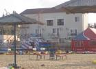 Фото туриста. дом, в котором мы жили, вид с пляжа))