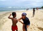 Фото туриста. Общение с аборигенами