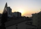 Фото туриста. рассвет с балкона