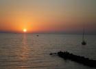 Фото туриста. закат в Сорренто