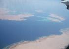 Фото туриста. Красное море из самолета