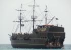 Фото туриста. Корабль Черная жемчужина