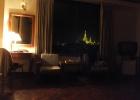 Фото туриста. Вид на Шведагон из номера Юзаны ночью