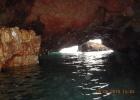Фото туриста. пещера изнутри