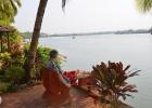 Фото туриста. Река Сол. Протекает вдоль отеля