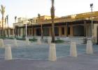 Фото туриста. вид отеля с наружи