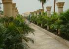 Фото туриста. дорога к пляжу - вид со стороны отеля