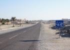 Фото туриста. до Марса Алама 45 км, а его аэропорт остался позади