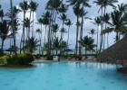 Фото туриста. вид с территории отеля на океан