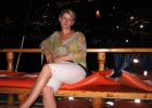 Фото туриста. на яхте