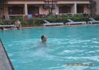 Фото туриста. бассейн в отеле