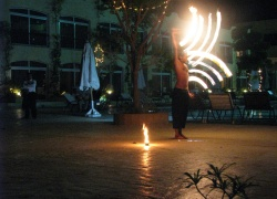 Royal Oasis Naama Bay Hotel & Resort , Fire show